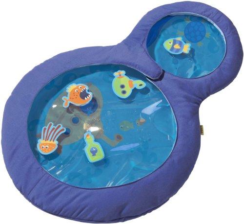 HABA 301184 - Wasser-Spielmatte kleine Taucher, wasserbefülltes Baby-Spielzeug mit beweglichen...
