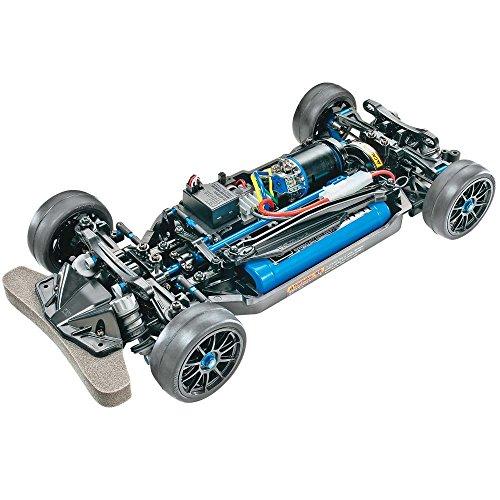 TAMIYA 47326-000 47326 47326-1:10 RC TT-02R Kit, ferngesteuertes Auto/Fahrzeug, Modellbau, Bausatz,...
