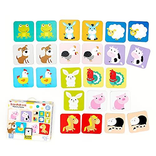Banana Panda - Suuuper Size Memory Game - Memo Lernspiel für Kinder ab 2 Jahren 33679 Mehrfarbig