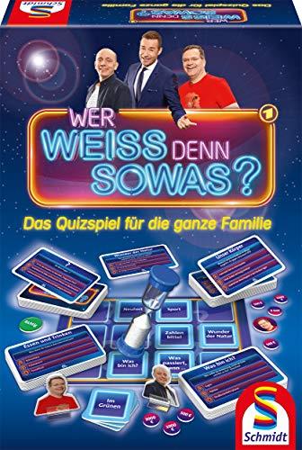 Schmidt Spiele 49356 Wer Weiss denn sowas, Quizspiel, bunt