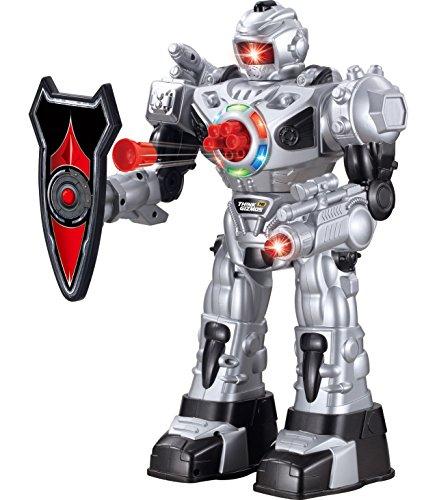 ThinkGizmos Großer Roboter ferngesteuert für Kinder - Hervorragendes Spielzeug Ro-boter - Fernbedienung...