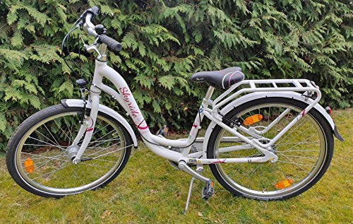 Puky_1 Skyride 24-3 City, in Light weiß, Mädchen-Fahrrad