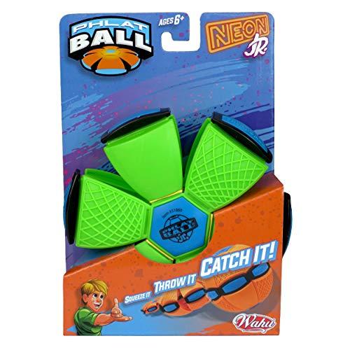 Phlat Ball 31860.006 Neon oder Metallic Farbiger transformierender Outdoor-Ball – Pink, Orange, Grün,...