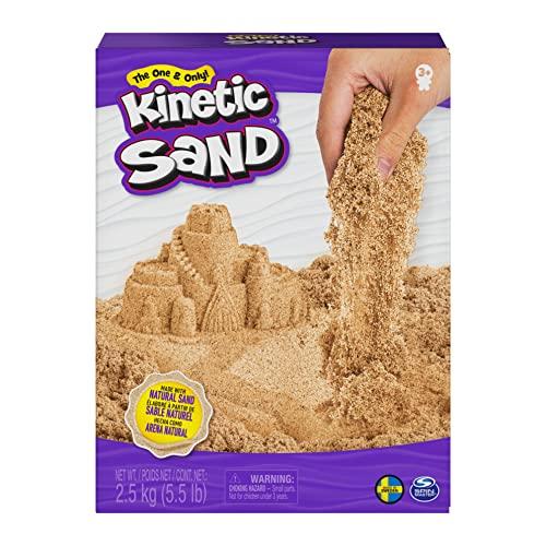 Kinetic Sand 2,5 kg original Kinetic Sand naturbraun