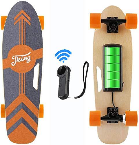 Caroma 77 cm Elektro Skateboard mit Drahtloser Bluetooth Fernbedienung für Erwachsene und Jugendliche,...