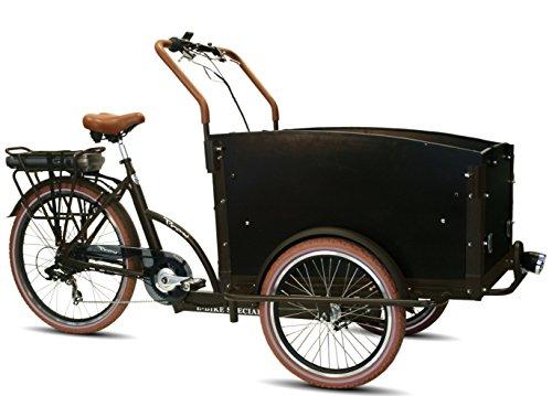 Elektro - Transportrad Voozer braun-schwarz