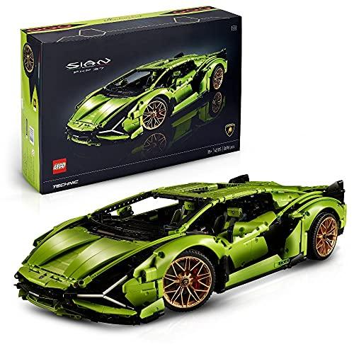 LEGO 42115 Technic Lamborghini Sián FKP 37 Rennwagen, Bauset für Erwachsene, Modellbausatz,...