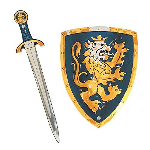 Liontouch 107LT Mittelalter Edler Ritter Spielzeug Set Für Kinder, Blau   Schwert und Schild aus...