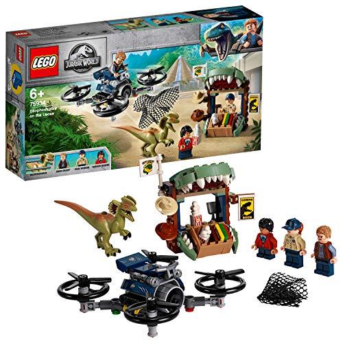 LEGO - Jurassic World Dilophosaurus auf der Flucht