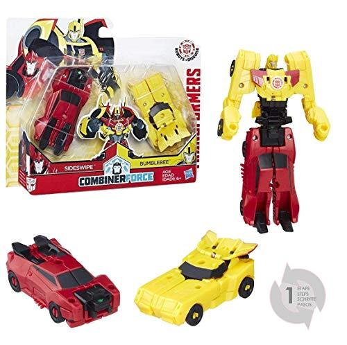 Hasbro Transformers C0630ES0 - Robots in Disguise Crash COMBINERS Bumblebee & SIDESWIPE - Actionfigur
