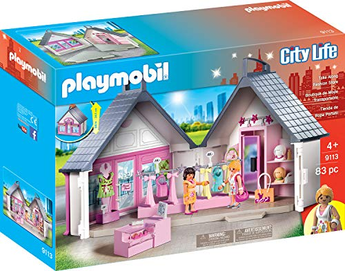 Playmobil 9113 Stadtleben Mitnehm-Modegeschäft, Mehrfarbig