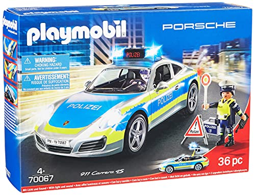 PLAYMOBIL City Action 70067 Porsche 911 Carrera 4S Polizei, ab 4 Jahren