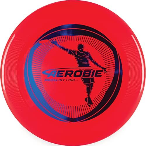Aerobie Medalist Red, rotes Profi-Frisbee mit Durchmesser 27cm
