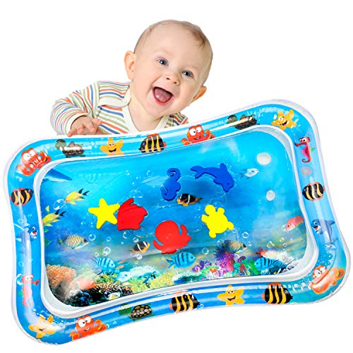Baby Aufblasbare Wassermatte Yosemy Wassermatte für Kinder Kleinkinder Aufblasbare Wasser-Spielmatte...