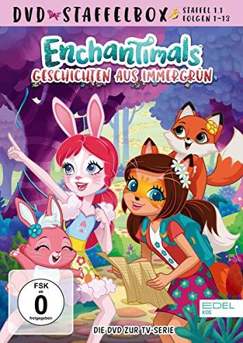Enchantimals - Geschichten aus Immergrün - Staffelbox 1.1 - Die DVD zur TV-Serie (Folgen 1 - 13)