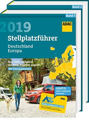 ADAC Stellplatzführer Deutschland/Europa 2019: Rund 6900 Stellplätze von ADAC Experten geprüft (ADAC...