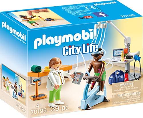Playmobil 70195 City Life Beim Facharzt: Physiotherapeut, ab 4 Jahren, bunt, one Size