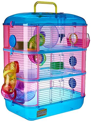 Arquivet Käfig für kleine Nagetiere Gran Canaria - Haus für Hamster, Mäuse, kleine Tiere, robuster...
