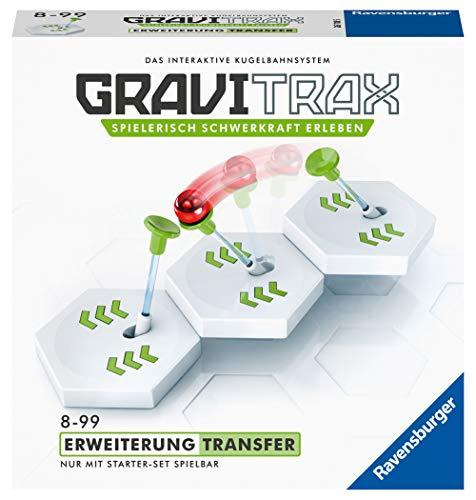 Ravensburger GraviTrax Erweiterung Transfer - Ideales Zubehör für spektakuläre Kugelbahnen,...