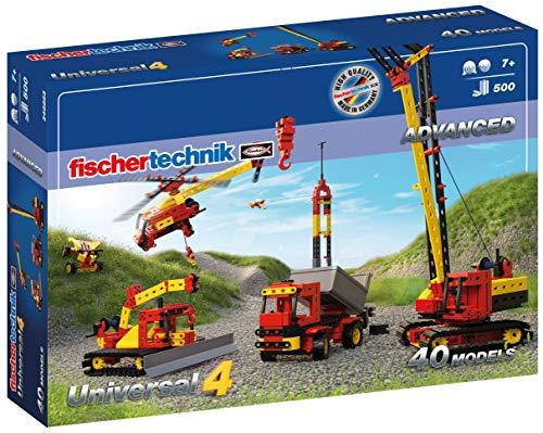 Fischertechnik 548885 Bauset Universal 4 - der perfekte Baukasten für technikbegeisterte Kids - Das...