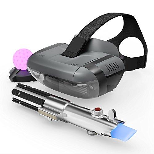 Virtual Reality Brille Star Wars mit Lichtschwert und Peilsender