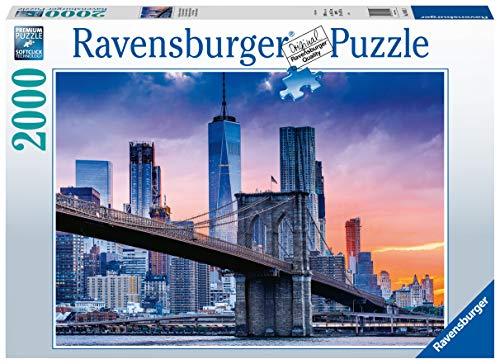 Ravensburger Puzzle 16011 - New York, von Brooklyn nach Manhattan - 2000 Teile Puzzle für Erwachsene und...