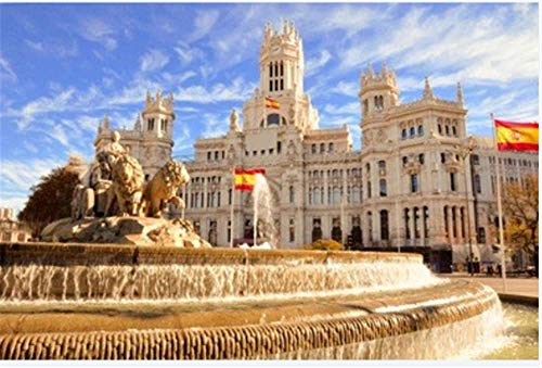 1000-Teiliges Puzzle Der Berühmte Cibeles Brunnen In Madrid Spanien Für Erwachsene Erwachsene Hobby...