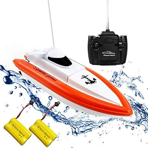 Rabing Ferngesteuertes Boot RC Boot für Pools und Seen - HY800 Rennboote 2.4 GHz 15 km/H...