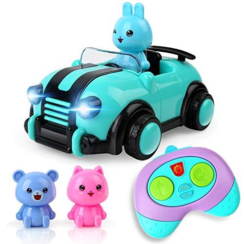 BeebeeRun Spielzeug 2 Jahre mädchen, ferngesteuertes Auto,Spielzeug für Baby Kinder Kleinkind Mädchen...