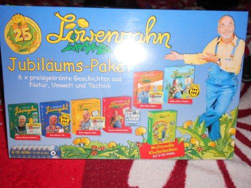 Löwenzahn Jubiläums-Paket (6 CDs) und Kinderlexikon (2 CDs)