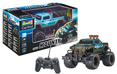 Revell Control 24472 Mounty Truck Spielzeug, Blau