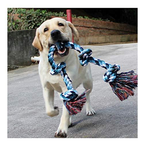 Hundespielzeug aus Seil für Starke große Hunde, 91 cm, 5 Knoten, Seil für Aggressive Kauen,...