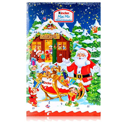 Kinder Mini Mix Adventskalender, 1er Pack (1 x 152 g)