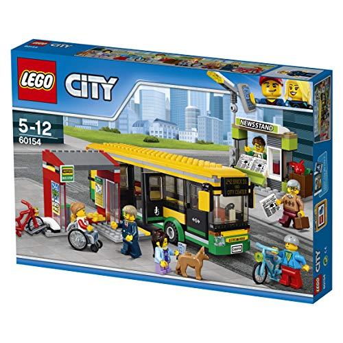 LEGO City 60154 - 'Busbahnhof Konstruktionsspiel, bunt