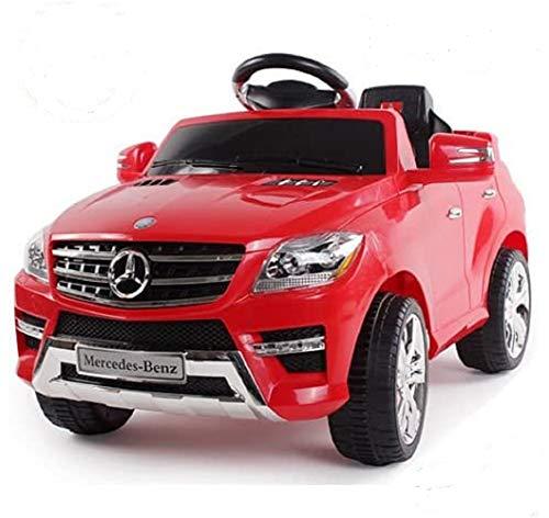 *Soft-Start* Original Mercedes-Benz ML 4x4 4MATIC 350 SUV Lizenz Kinderauto Kinderfahrzeug (ROT)