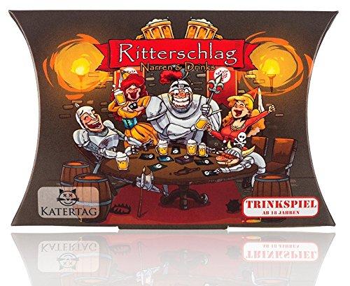 Ritterschlag- Das kreative Trinkspiel von Katertag