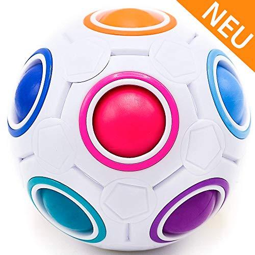 CUBIXS® – Regenbogenball – Geschicklichkeitsspiel für Kinder und Erwachsene – tolles Mitgebsel...
