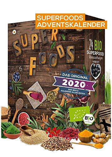 BIO Superfood Adventskalender 2020 I gesund durch die Adventszeit I Superfoods testen I 24 leckere...