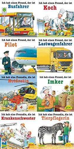 Pixi-Bundle 8er Serie 213: Was ich mal werden will (Pixi-8er-Set, Band 213)