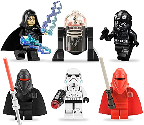 Star Wars Tortendeko Mini Figuren Set Geburtstag Star Wars Party 6pcs Cake Tortenfiguren, MiniFiguren...