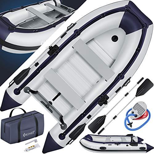 KESSER® Schlauchboot 3,20 m für 4 Personen - Wave Motor geeignet Freizeitboot Paddelboot Motorboot...