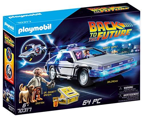 PLAYMOBIL Back to the Future 70317 DeLorean mit Lichteffekten, Ab 6 Jahren