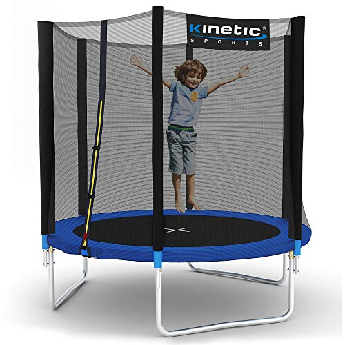 Kinetic Sports Gartentrampolin TPLH06 (Ø 183 cm, blau)