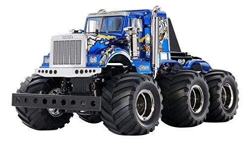 TAMIYA 58646 - 1:18 RC Konghead 6x6 (G6-01), ferngesteuertes Auto/ Fahrzeug, Modellbau, Bausatz, Hobby,...