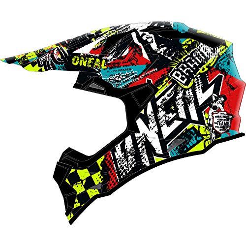 O'NEAL | Motocross-Helm | Kinder | MX Enduro | ABS-Schale, Sicherheitsnorm ECE 22.05, Lüftungsöffnungen...