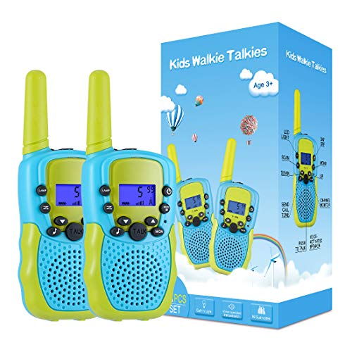 Kearui Spielzeug 3-12 Jahren Junge, Walkie Talkies für Kinder 8 Kanal Funkgerät mit...