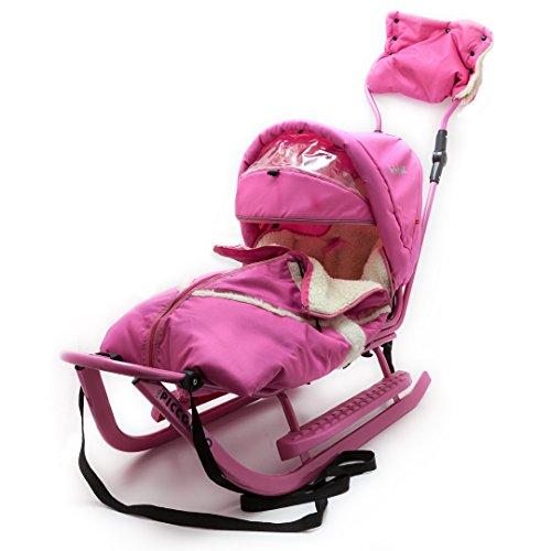 Babyschlitten Piccolino Komfort (Rosa)