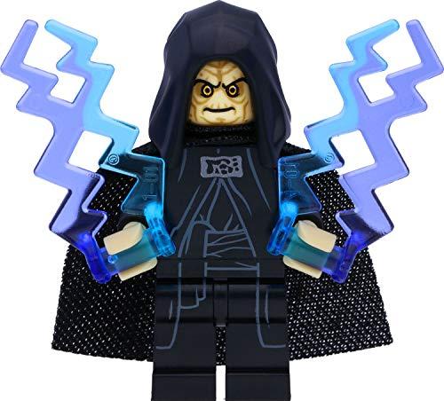 LEGO Star Wars Minifigur Imperator Palpatine / Darth Sidious (2020) mit Machtblitzen und Laserschwert