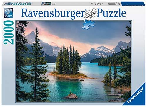Ravensburger Puzzle 16714 - Spirit Island Canada - 2000 Teile Puzzle für Erwachsene und Kinder ab 14...