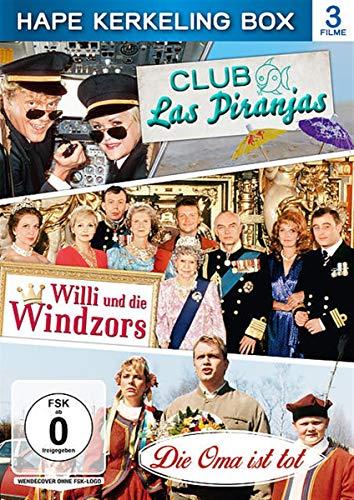 Hape Kerkeling Box: Club Las Piranjas, Willi und die Windzors, Die Oma ist tot [3 DVDs]